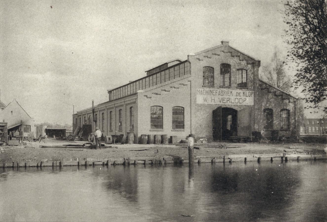De oude machinefabriek De Klop.