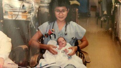 Verpleegster verzorgt premature jongen, 28 jaar later zijn ze collega's