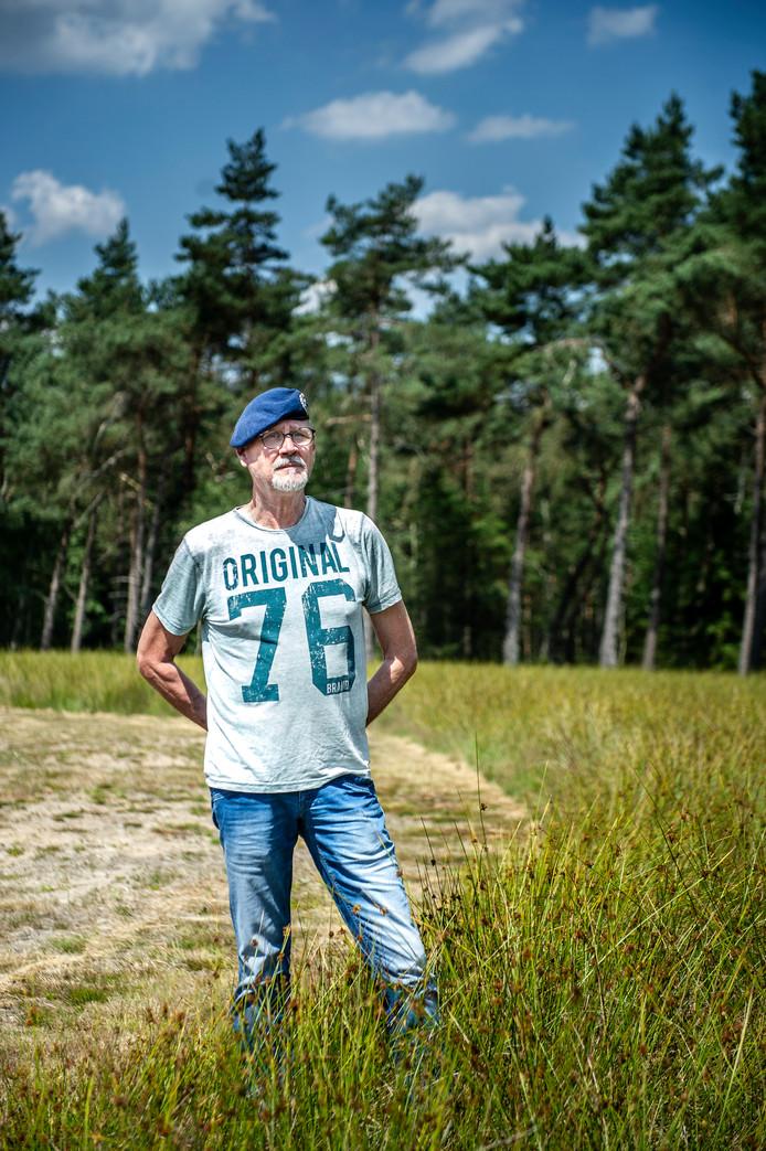 Bert van Hedel is een van de eerste veteranen die een plek heeft gereserveerd op de nieuwe Veteranenbegraafplaats in Loenen.