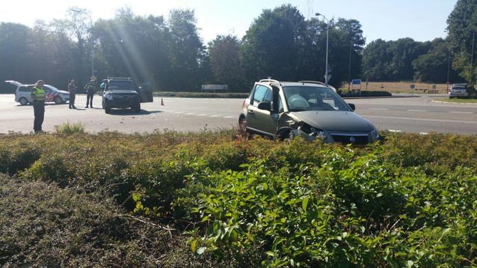 Beide auto's zijn afgesleept.