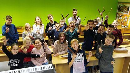 The Voice-kandidaat geeft muziekles bij SILA Westerlo