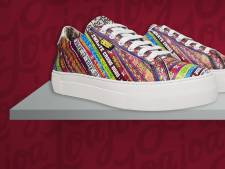 Zwarte Cross komt met kleurrijke eigen sneakers na festivalloos jaar door corona