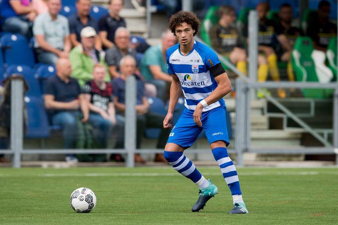 PEC Zwolle speler Philippe Sandler