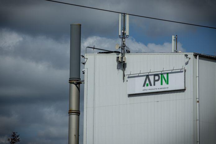 De APN-fabriek in Nijmegen