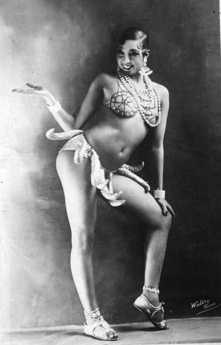 Baker in haar beroemde bananenrokje. Beeld Getty Images