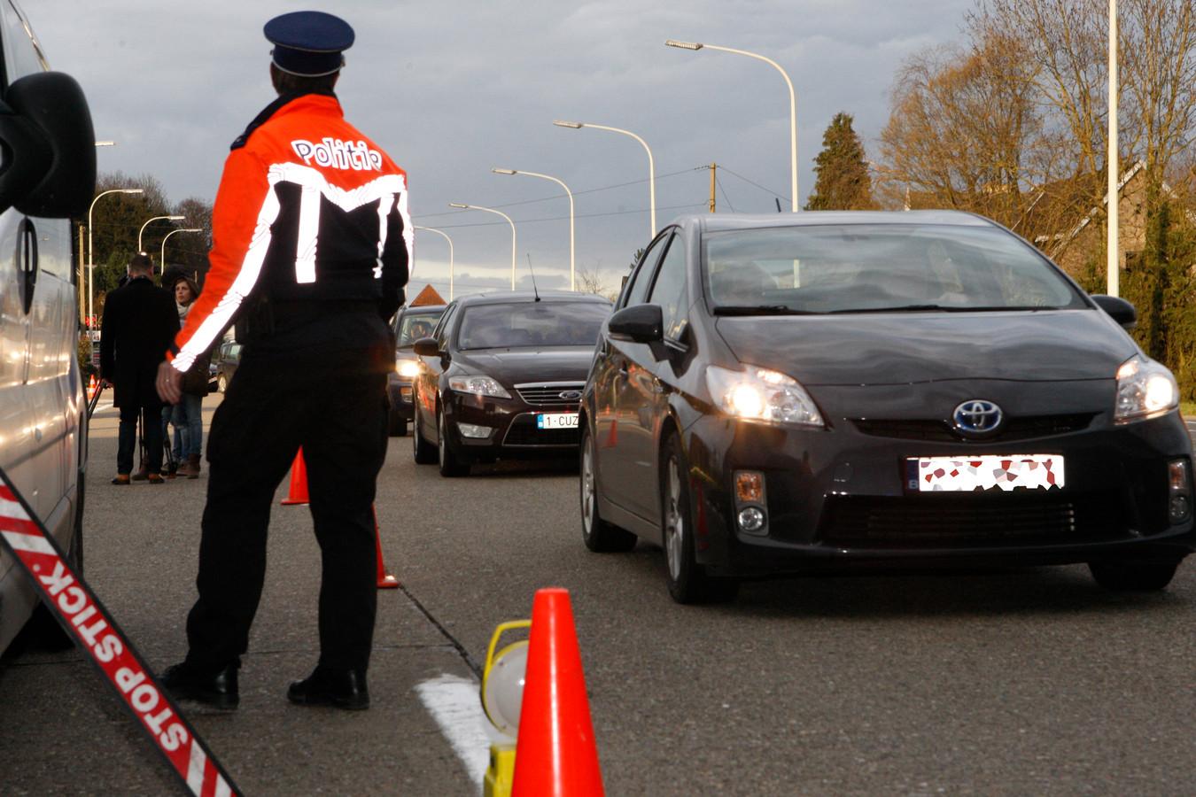 Bij de verkeersactie werd gefocust op gordeldracht en gsm-gebruik achter het stuur.