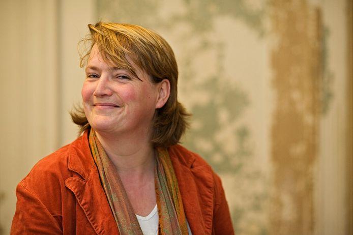 Lijstduwer Anne-Marie Mineur.