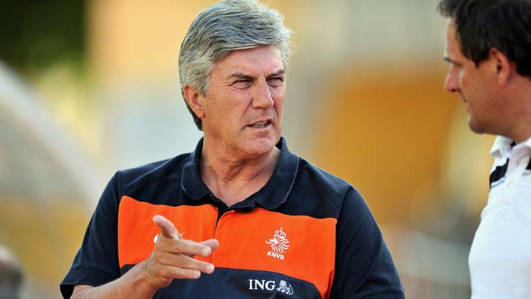 Jong Oranje-bondscoach Cor Pot. Beeld ANP Pro Shots