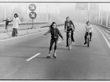 Rolschaatsen op de snelweg, deed jij dat ook op de autoloze zondagen in 1973?