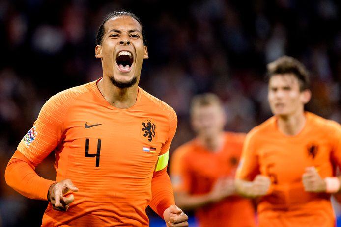 Virgil van Dijk maakt kans om Sportman van het Jaar te worden.