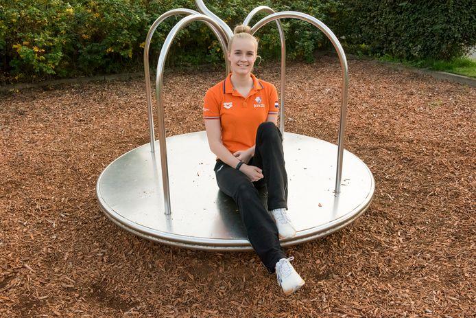 Na het geschrapte WK is Lisa Kruger aangewezen op wedstrijden in Nederland.