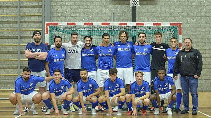 De eredivisie zaalvoetbalselectie van AGOVV Futal.