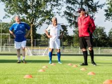 Stand bijhouden wordt helemaal vergeten bij Walking Football in Heelsum