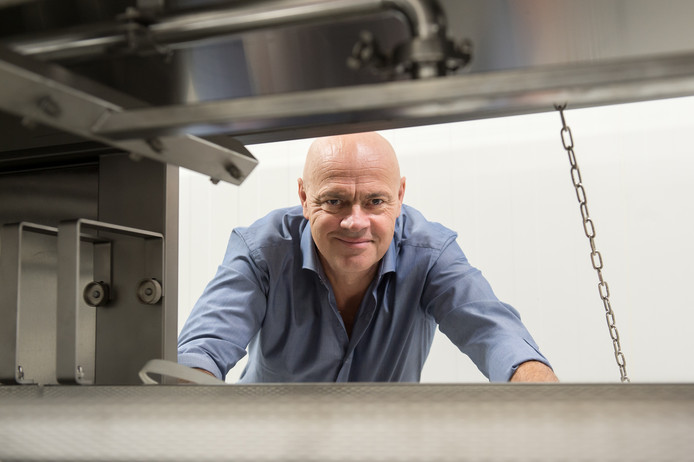 Jaap Korteweg, oprichter van De Vegetarische Slager.