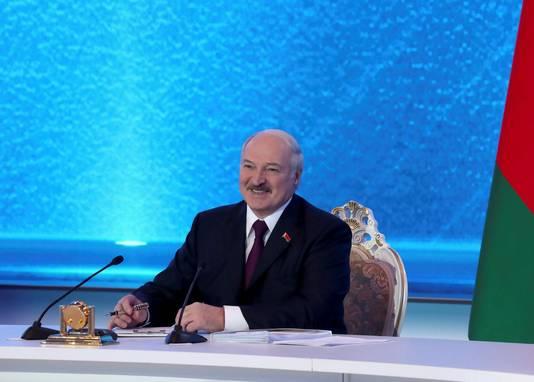 Intervention du président biélorusse ce 1er mars à la télévision nationale