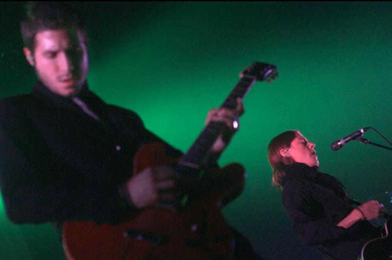 Interpol live in Vorst Nationaal in 2007.  Beeld Alex Vanhee