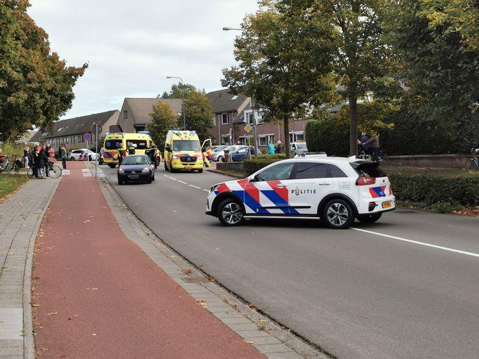 Ongeluk in Veenendaal.