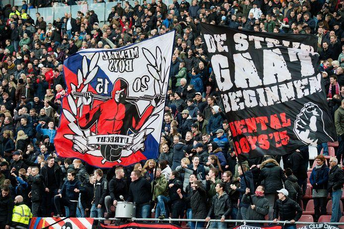 De FC Utrecht-fans werden door de NOS onder vuur genomen