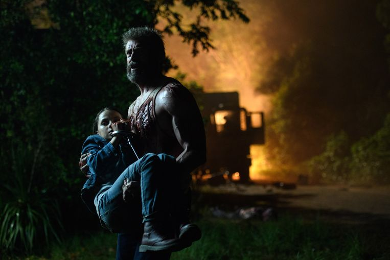 Logan toont zich kwetsbaar. Ook als superheld.  Beeld rv Photo Credit: Ben Rothstein