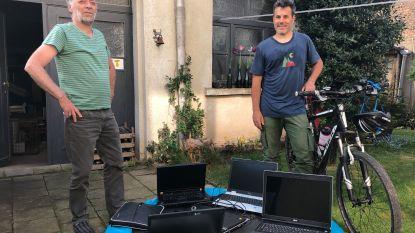 72 laptops gevonden en nog steeds op zoek