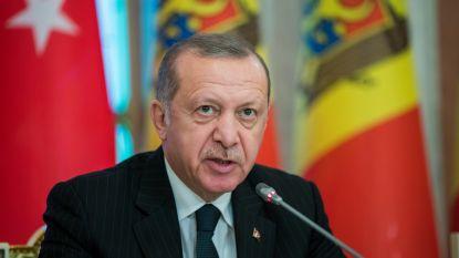 """Erdogan laat aanklacht tegen studenten wegens """"beledigend"""" spandoek vallen"""