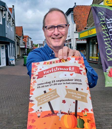 Keuze voor 25 september pakt geweldig uit voor organisator Hans: Herfstmarkt in Strijen kan doorgaan