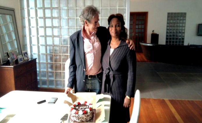 Tob Cohen en zijn vrouw Sarah.