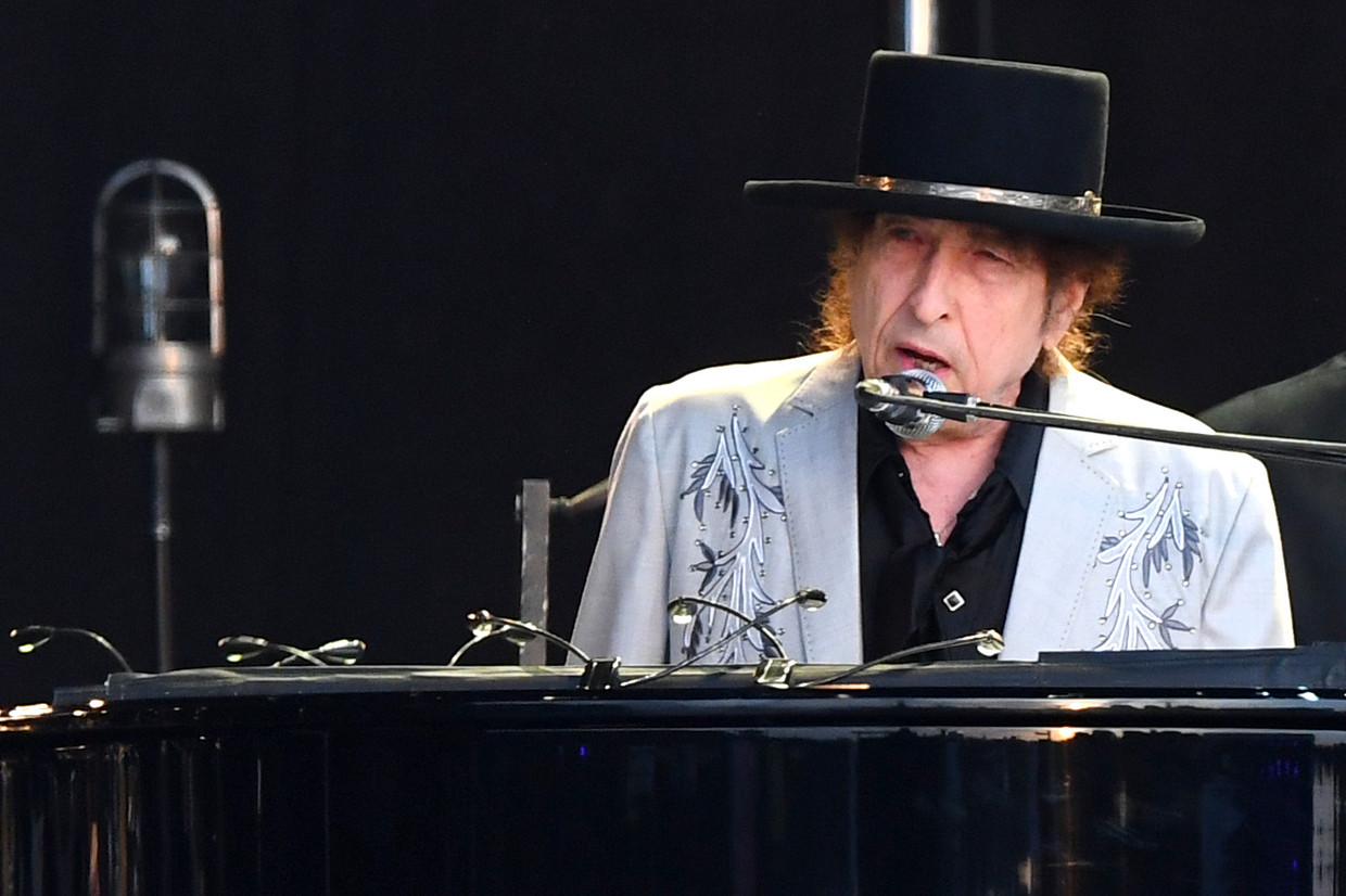Bob Dylan, Hyde Park, 2019 Beeld Dave J Hogan/Getty Images