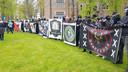 Defend-groepen uit het hele land zijn aanwezig tijdens de demonstratie in Barneveld.