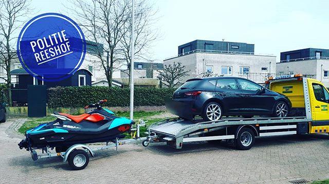 Spullen in beslag genomen in Tilburg