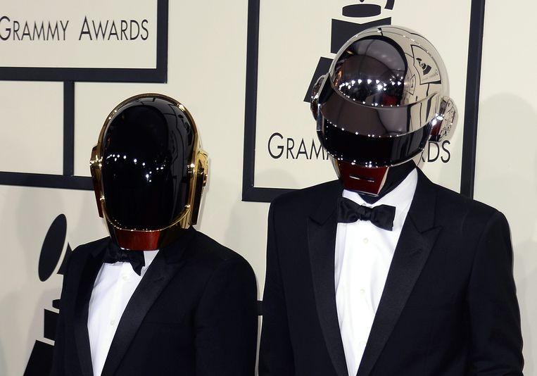 Fans kunnen zich na jaren weer opmaken voor nieuw werk van Daft Punk.  Beeld EPA