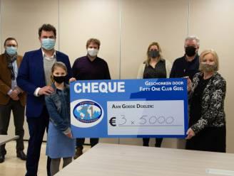 Geelse serviceclub schenkt 15.000 euro aan armoedeorganisaties