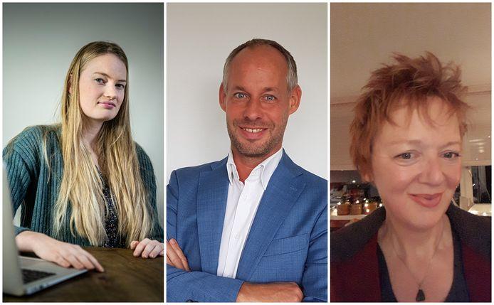 Laura Roetgerink, Ralph Lagendijk en Belinda Inhulsen zijn al een tijd op zoek naar een baan, ze hebben al ruim honderd sollicitaties verstuurd.