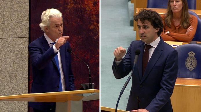 De avondklokrellen hebben ook verwijten uitgelokt onder politici. Jesse Klaver en Geert Wilders vliegen elkaar via Twitter in de haren.