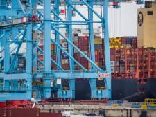 Rotterdamse haven: Suez-file is afgehandeld, op een paar schepen na
