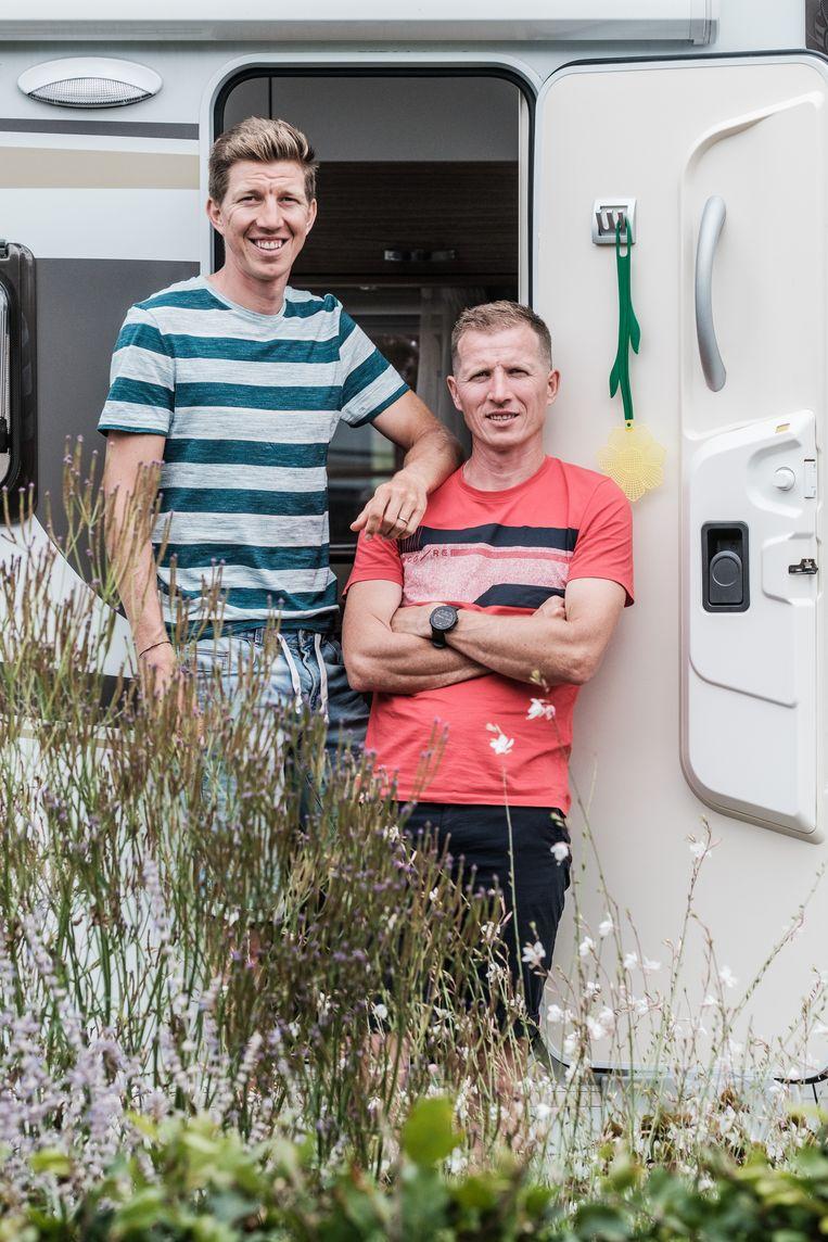 Ken: ''Ik belde naar mijn gezin: we waren Sep bijna kwijt.' Beeld Bob Van Mol