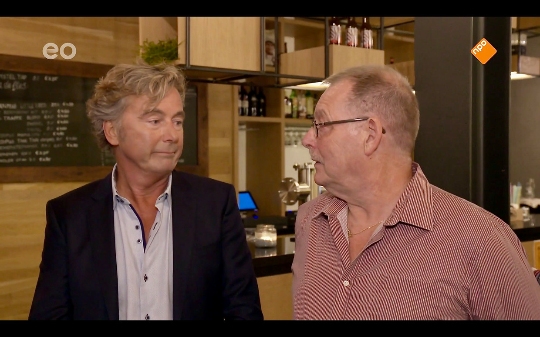 'Het Familiediner' met Bert van Leeuwen (links). Beeld Renate Van Der Bas