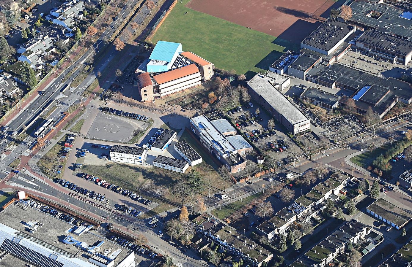 Het Novalis College aan de Sterrenlaan in Eindhoven.