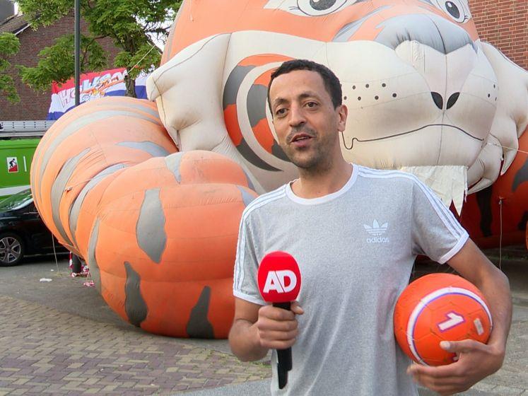 Bewoners bekende Oranjestraat in Breda dolblij met overwinning: 'Wat een prachtige wedstrijd!'