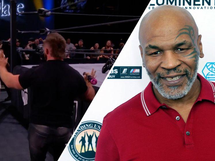 Tyson slaat bij comeback man met knuppel 'knock-out'