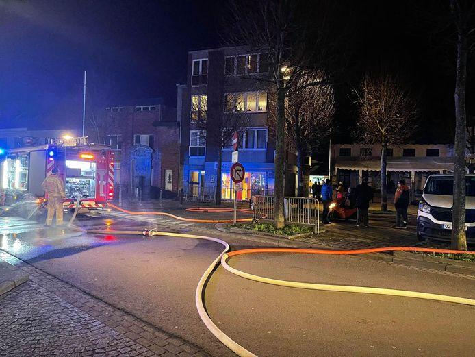 De brandweer moest vrijdagavond opnieuw uitrukken naar restaurant De Clesse in Oudenburg.