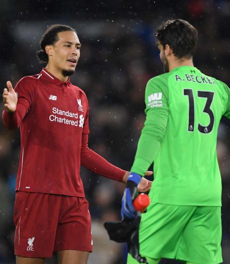 Van Dijk heeft de defensie van Liverpool dichtgetimmerd