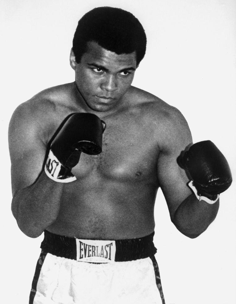 Mohammed Ali in 1964. Beeld afp