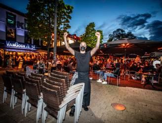 Van handvol vechtpartijtjes en arrestaties tot ontruimd Dusartplein omstreeks 23 uur: dit was de eerste avond op de Hasseltse terrassen