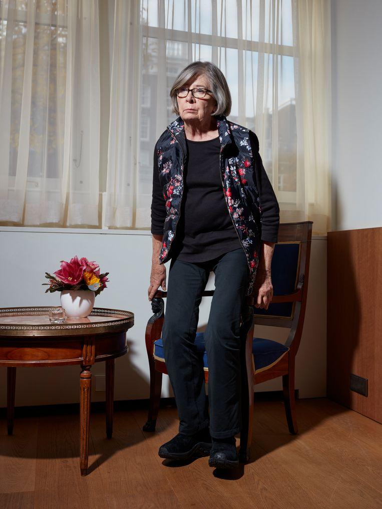Barbara Ehrenreich Beeld Erik Smits. Visagie Bianca Fabrie