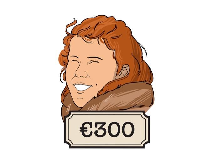 Lise is verkoopmedewerker en heeft een eigen bedrijf.
