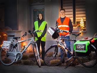 Bjorn (15) en Tijs (16) zetten Noord-Antwerpse lichtcreaties in de kijker