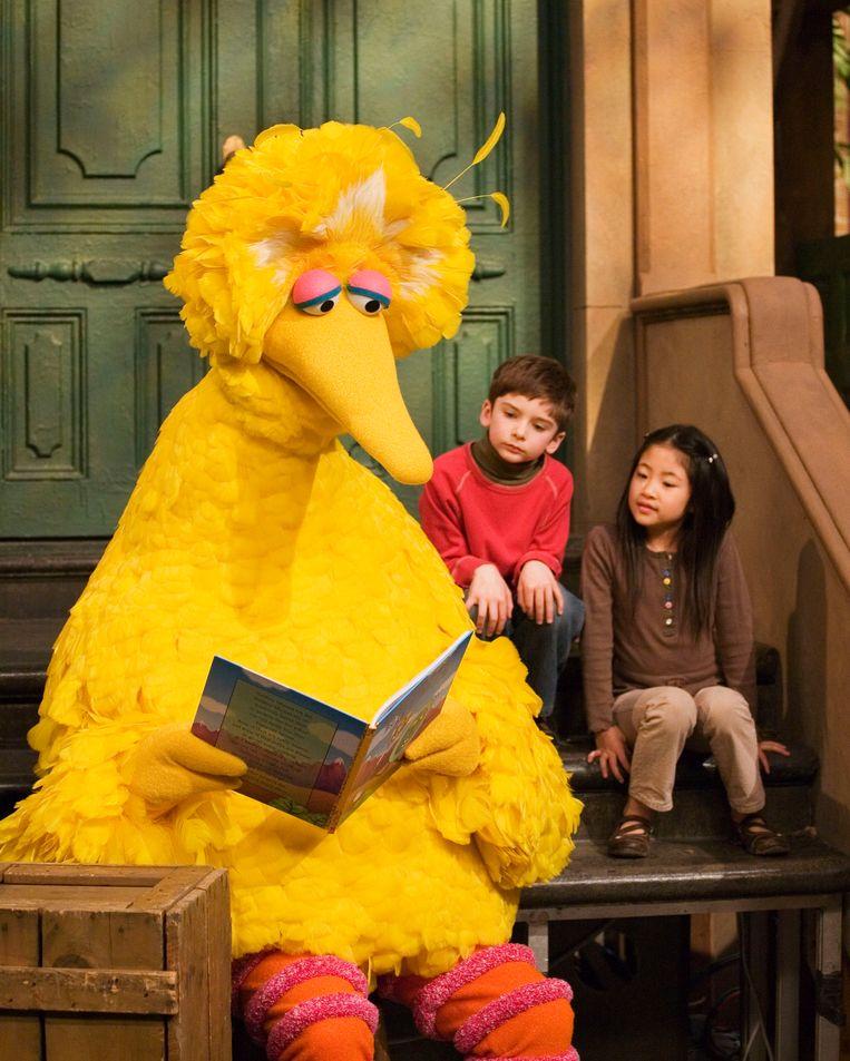 Pino (of Big Bird) wordt voortaan door iemand anders vertolkt. Beeld AP