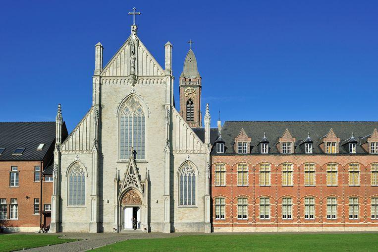 De abdij van Tongerlo, door de Levensschool gebruikt als leslocatie. Beeld Clément Philippe/Belga