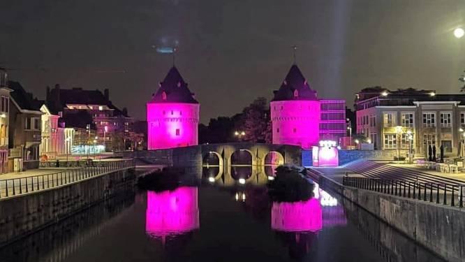 Broeltorens kleuren roze om borstkankerpatiënten te steunen